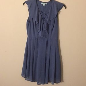 She & Sky Dusty Blue Dress - Size Small